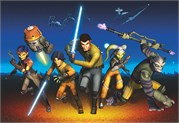 Komar 8-486 Star Wars Rebels Run Duvar Posteri